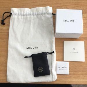 Mejuri Jewelry Box and Pouches Set